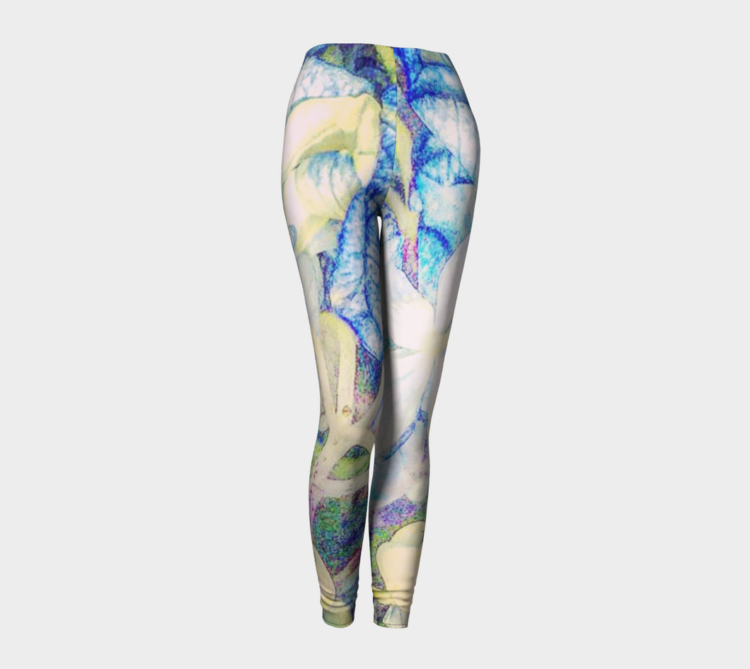 Flower Mosaic Leggings