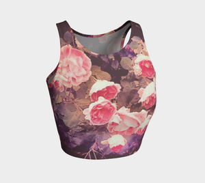 Rosebush Athletic Crop Top