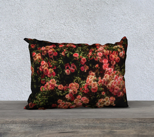 Rose Garden Pillow Case II
