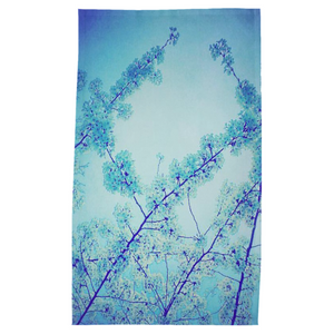 Blue Spring Tea Towel