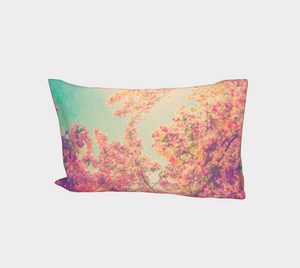 Pink Spring Bed Pillow Sleeve