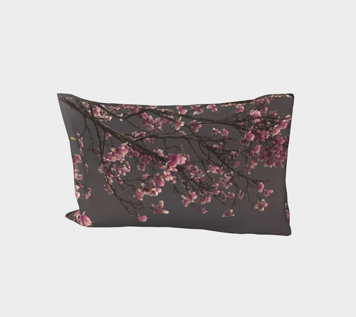 Magnolias Bed Pillow Sleeve