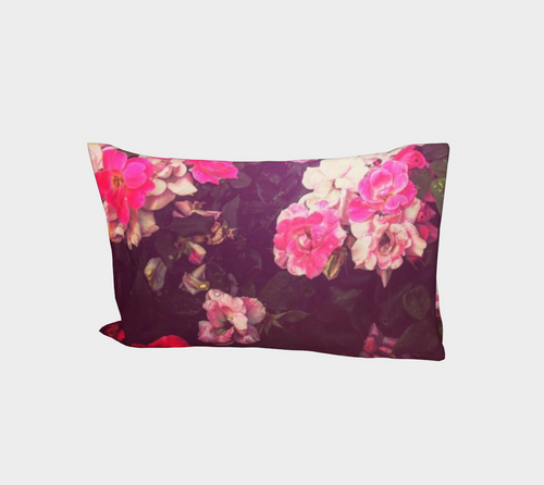 Night Roses Bed Pillow Sleeve