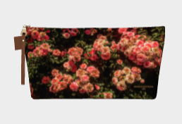 """Rose Garden"" Makeup Bag"