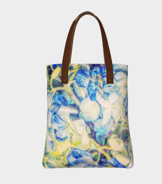 Flower Mosaic Handbag
