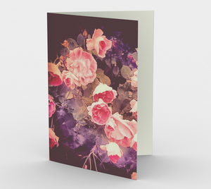 """Rosebush"" Cards (set of 3)"
