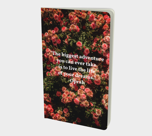 Rose Garden + Oprah Quote Journal