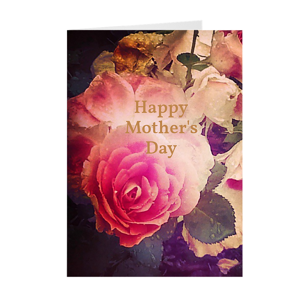 Mother's Day Rose Card