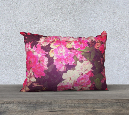 Night Roses Pillow Case II