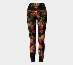 Rose Garden Yoga Leggings