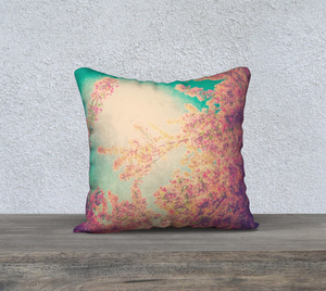 Pink Spring Pillow Case I