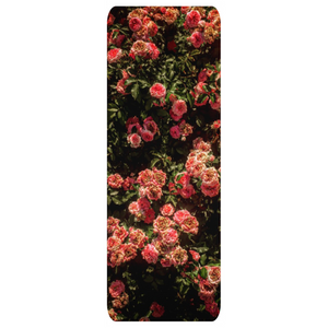 Rose Garden Yoga Mat