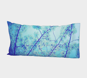 Blue Spring Bed Pillow Sleeve