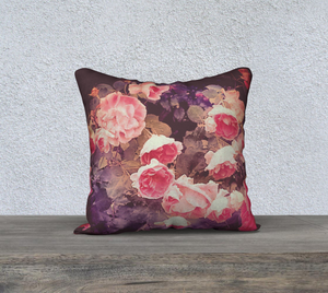 Rosebush Pillow Case I