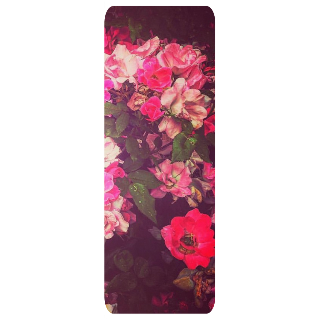Night Roses Yoga Mat