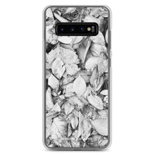 """Black & White Leaves"" Samsung Case"