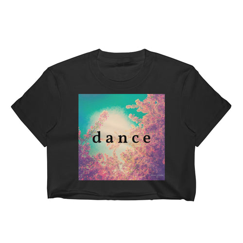 Dance + Pink Spring II Crop Top