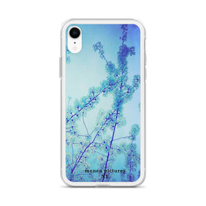 Blue Spring iPhone Case