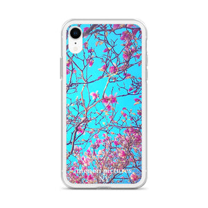 Pink Magnolias iPhone Case