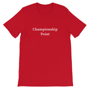 """Championship Point"" T-Shirt (various colors) 2"