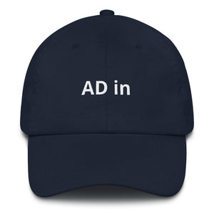 AD in Hat (various colors)