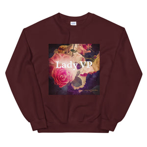 Lady VP + Roses Sweatshirt