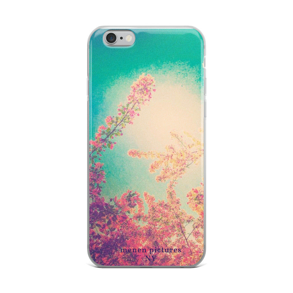 Pink Spring iPhone Case
