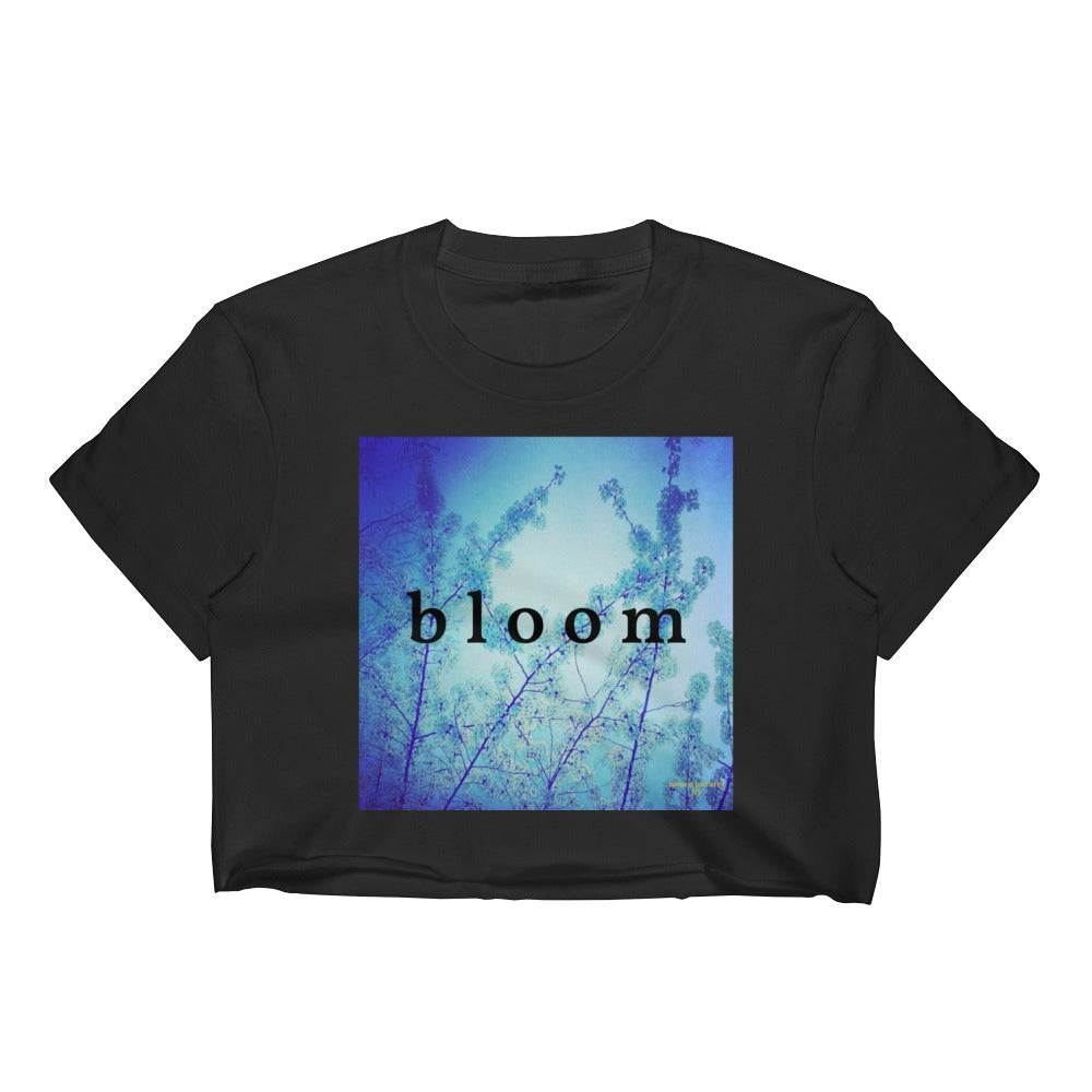 Blue Spring + Bloom II Crop Top