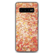 """Orange Leaves"" Samsung Case"