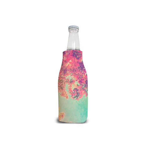 Pink Spring Bottle Cooler