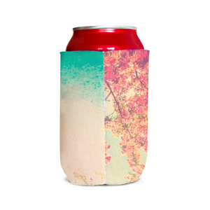 Pink Spring Can Cooler