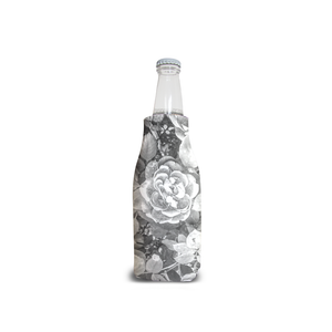 Roses en Noir et Blanc Bottle Cooler