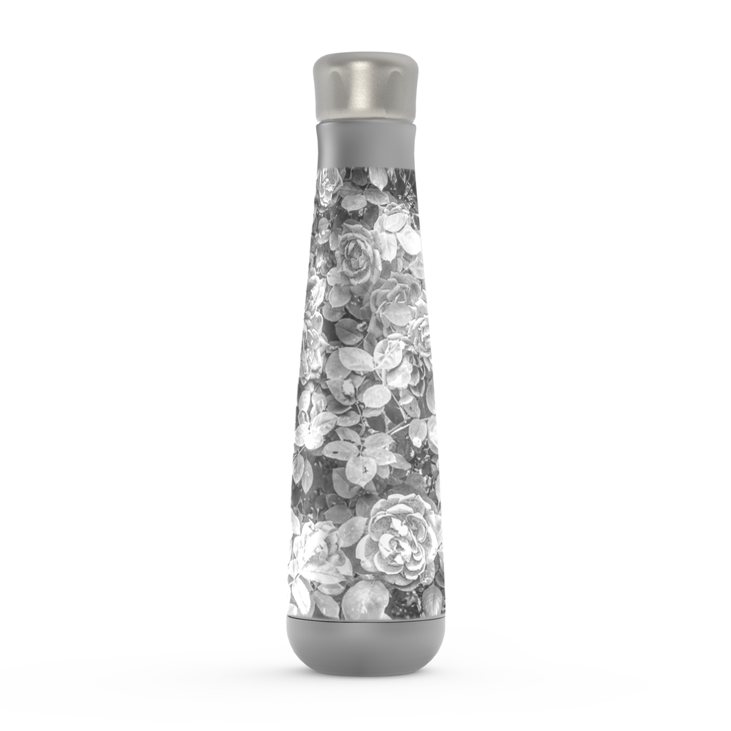 Roses en Noir et Blanc Water Bottle