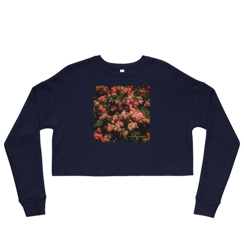 Rose Garden Crop Sweatshirt