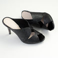 Stilaré Desire Stiletto Mules in Black