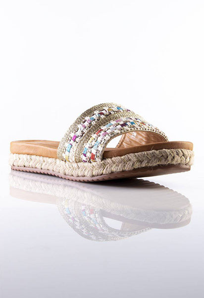 Summerfly Sliders in Multicolor - Stilaré