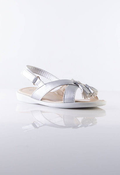 Jessy Kids Shoes Crisscross in Silver