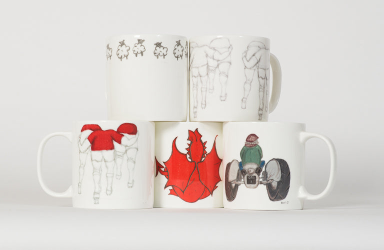 Mugs, Cups and Drinkware