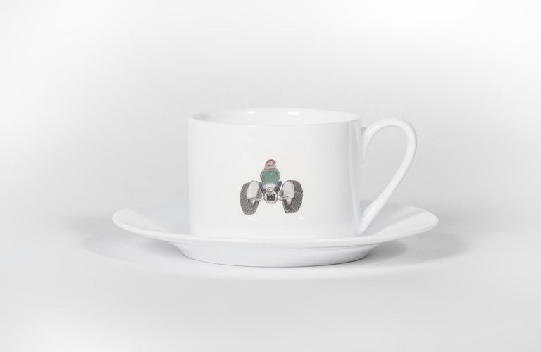 Cup and Saucer - Tractor