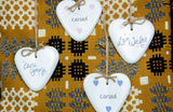 Love Wales Ceramic Hanger
