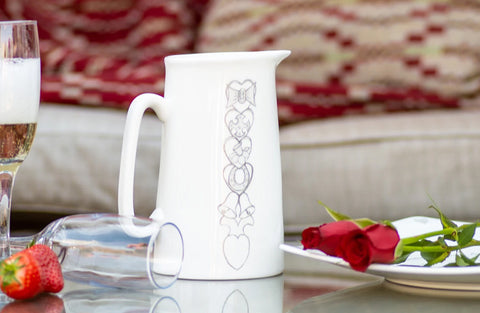 Welsh Lovespoon Jug