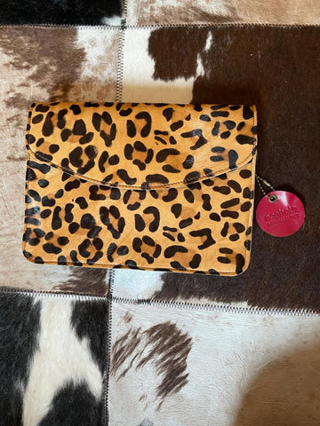 Nephele Full Animal Print Midi Bag (Leopard)