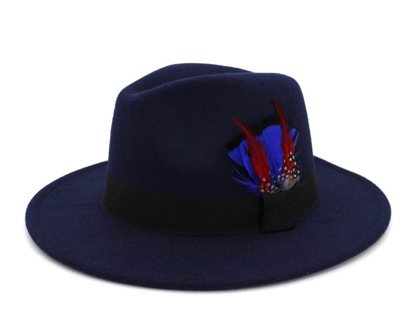 Fedora Feather Hat