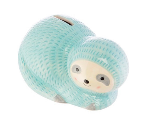 Seymour the Sloth Money Box