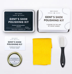 Gents Shoe Polishing Kit (Gift Set)