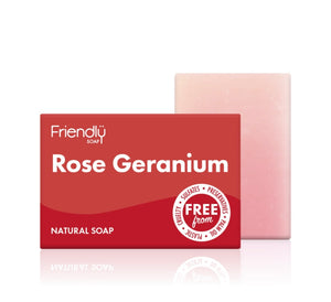 Rose and Geranium Soap 95g