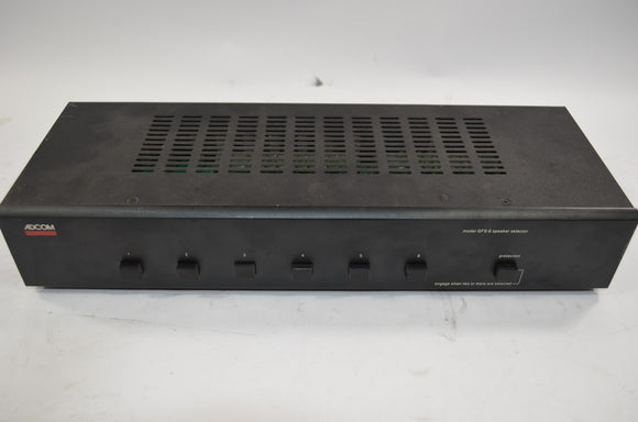 Adcom GFS-6 Speaker Selector with speaker protection and 6 stereo outputs