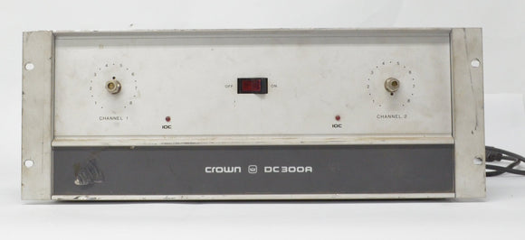 Crown DC300A  Power Amp