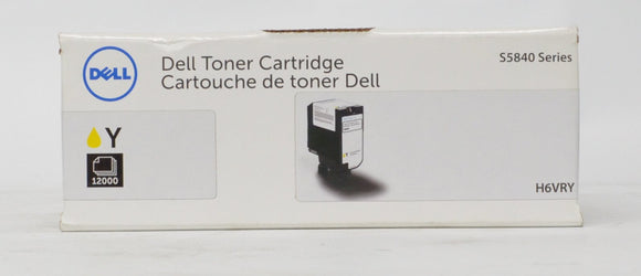 Dell H6VRY Yellow High Yield Toner Cartridge