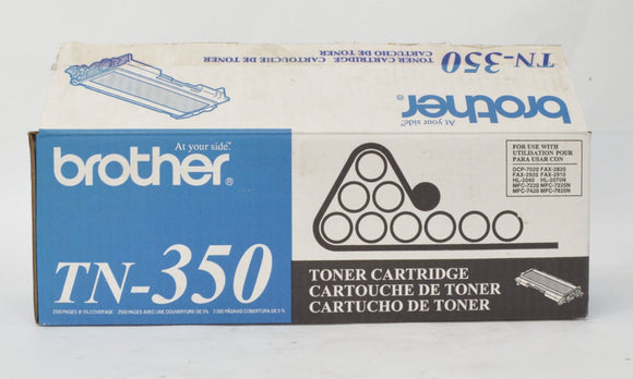 Brother TN-350 Black Standard Yield Toner Cartridge